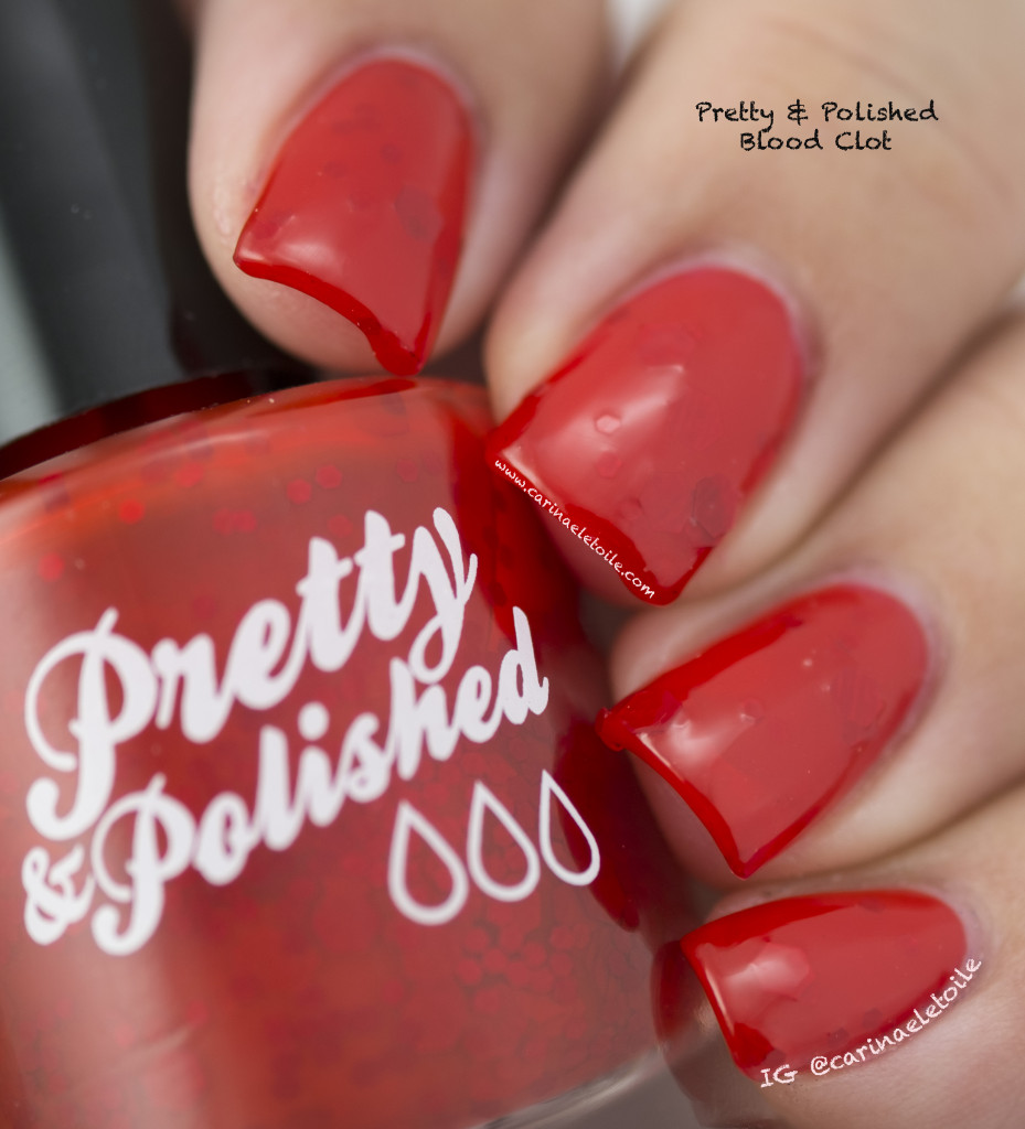 Pretty & Polished Blood Clot Light Box