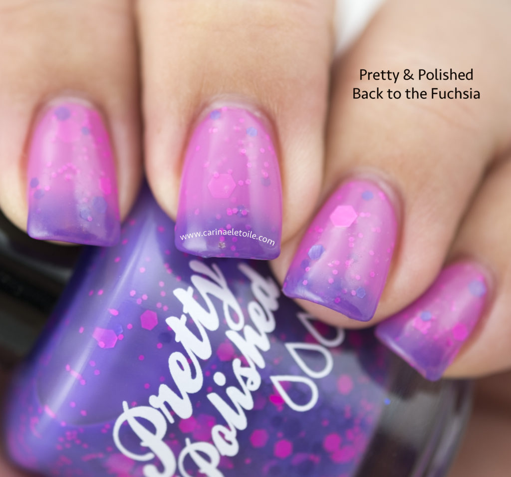Pretty & Polished Back to the Fuchsia
