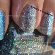 OPI Shimmer Shimmer OPI Absolutely Alice