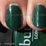 For Hubby – Butter's British Racing Green
