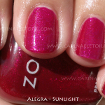 Zoya – Alegra – Sparkle Collection, summer 2010