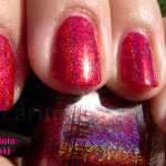Glitter Gal Red 3D Holo
