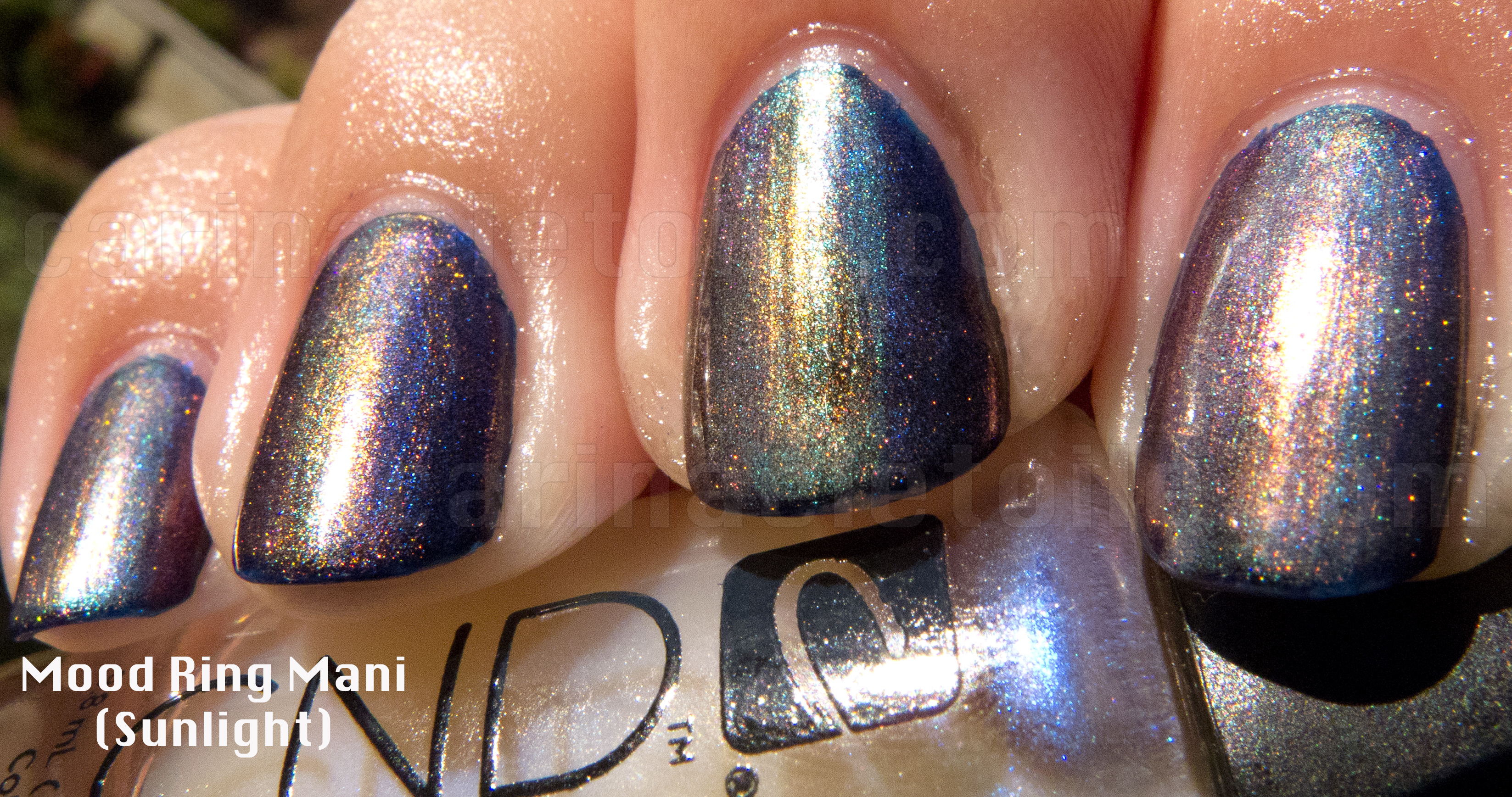 CND Mood Ring Mani Sunlight
