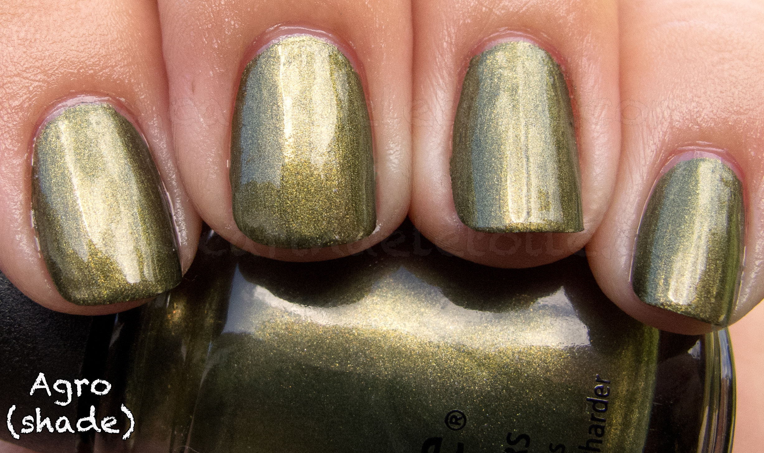 China Glaze - Agro - Hunger Games Collection, Spring 2012