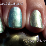 China Glaze New Bohemian swatches and GIVEAWAY