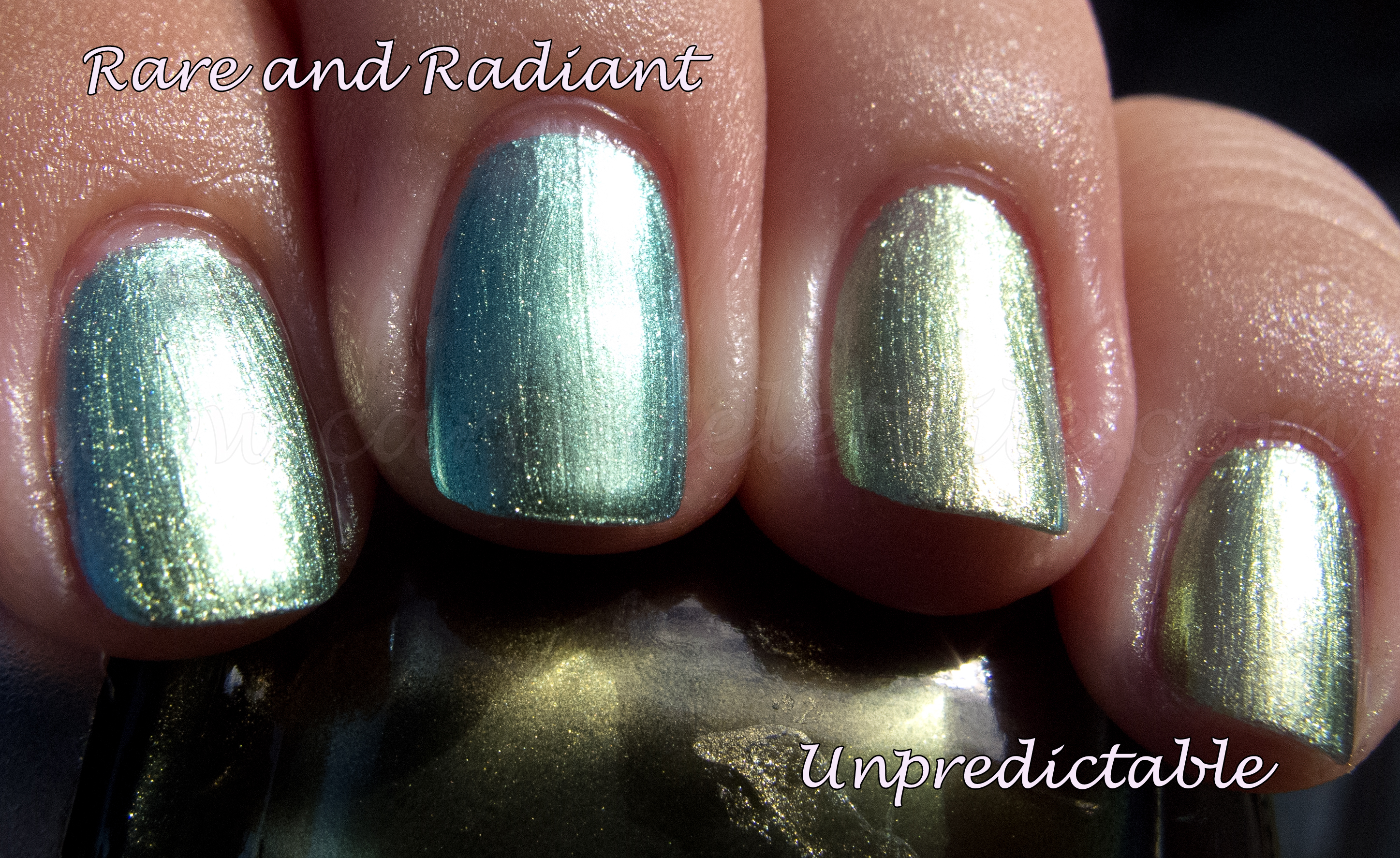 China Glaze Unpredictable China Glaze Rare and Radiant
