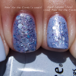 China Glaze Agent Lavender and Nerd Lacquer Pinin' for the Fjords
