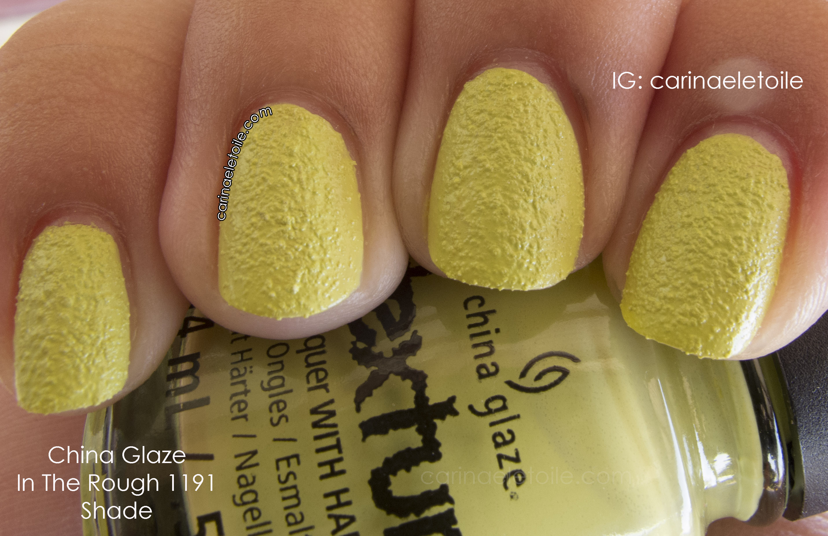 China Glaze In The Rough