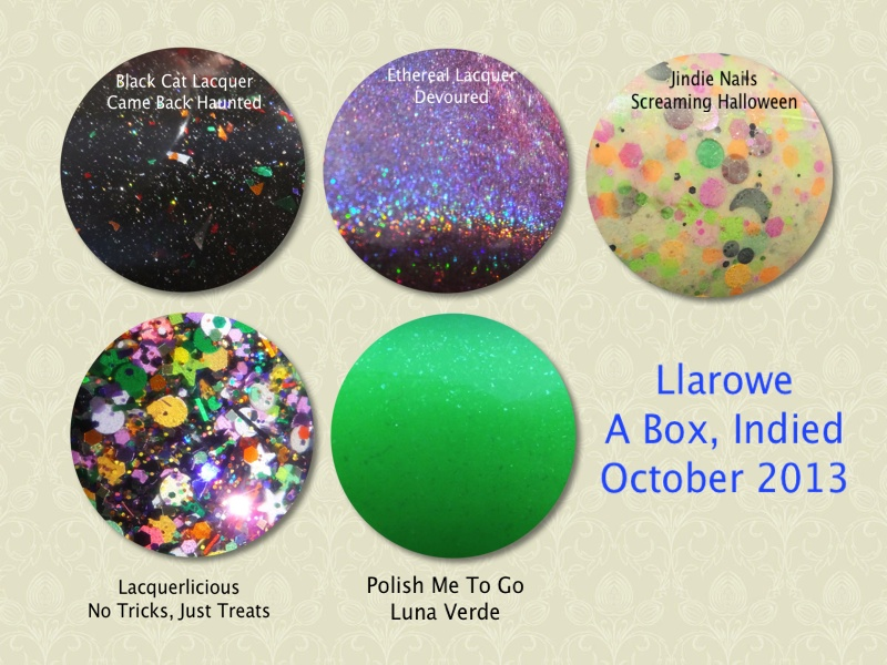Llarowe A Box Indied October 2013