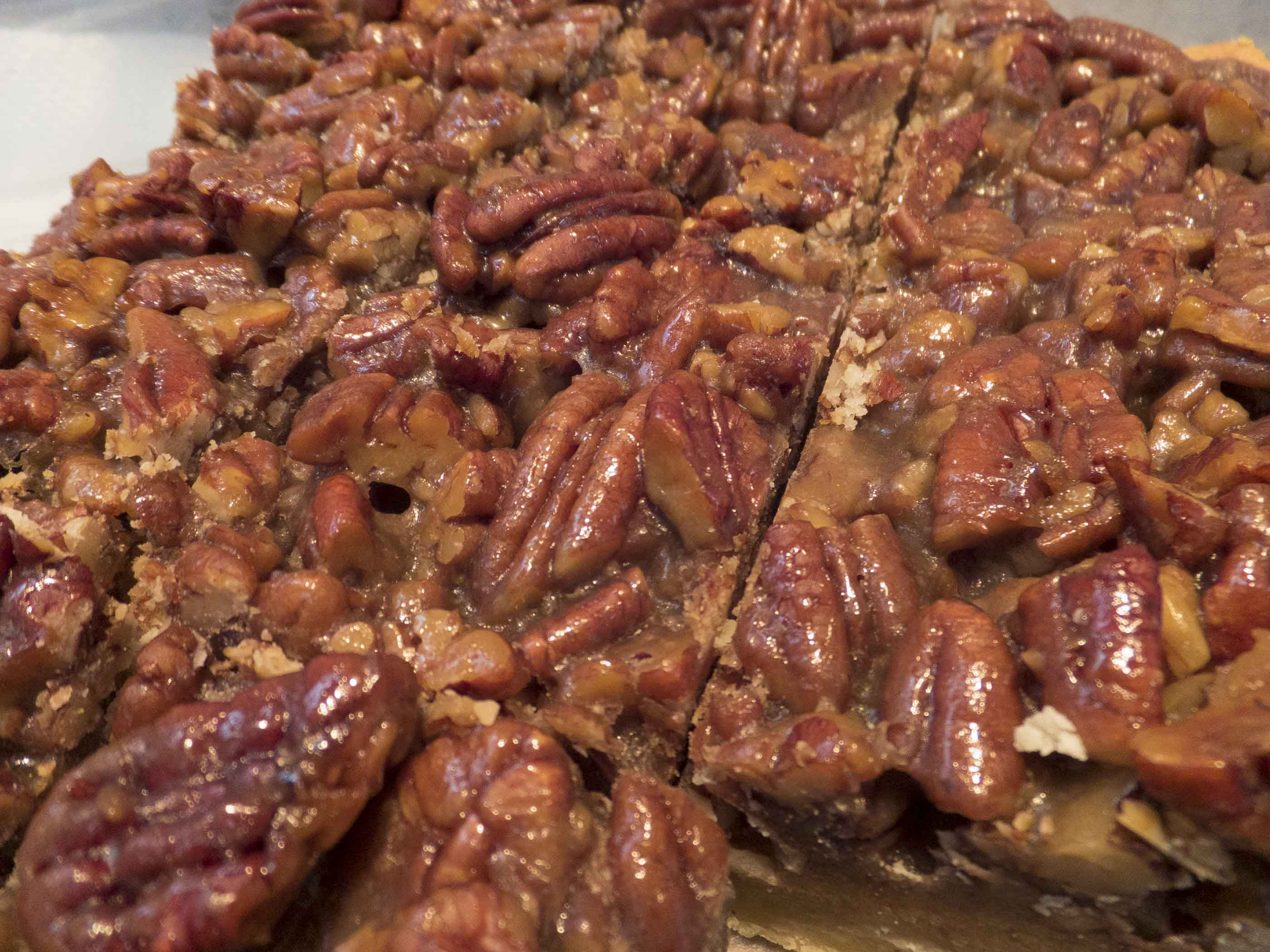 Pecan Bars No Corn Syrup